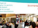 bandeau twitter de l'AGLCA : accompagner, mutualiser, coopérer - avec des photos de séminaires et formations de groupes