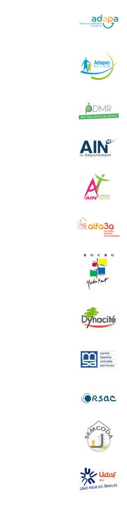 Logos de tous nos partenaires